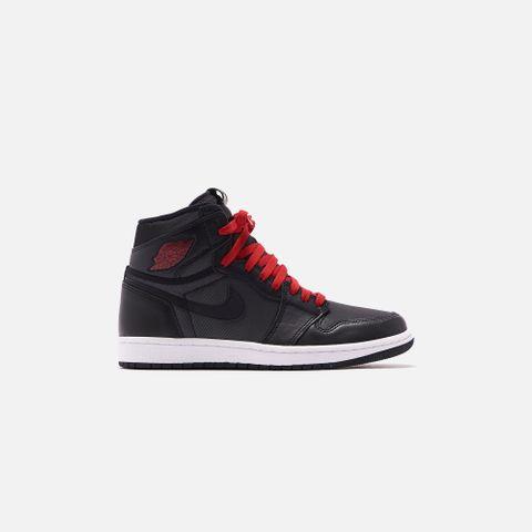 Nike Air Jodan 1 Retro High OG - Metallic Silver / Gym Red / White / Black