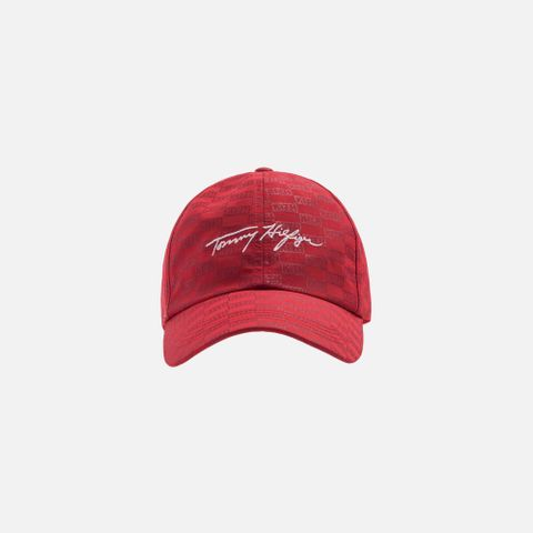 648f981be Kith x Tommy Hilfiger Signature Cap - Red