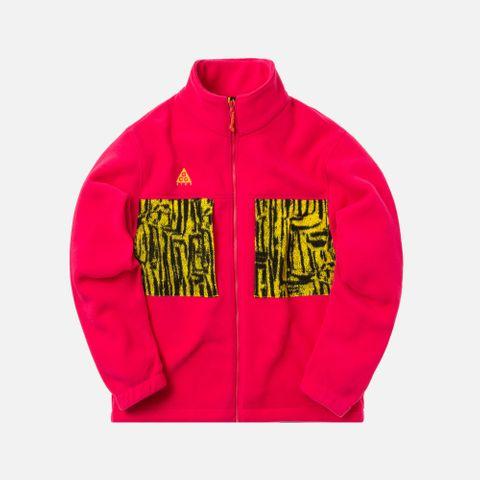 0051256c4 Nike ACG Microfleece Jacket - Pink / Yellow