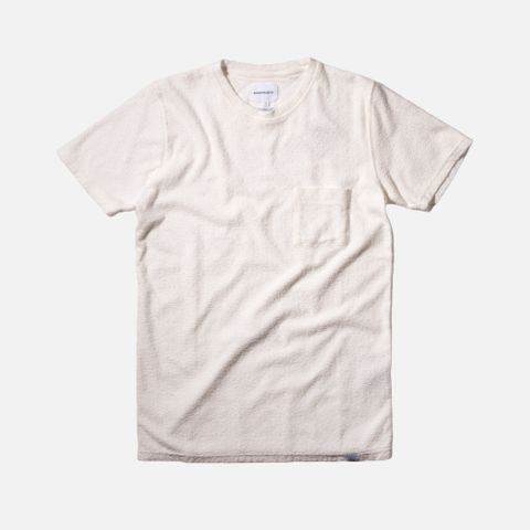 3110fc7999 Norse Projects Niels Japanese Pocket Tee - White