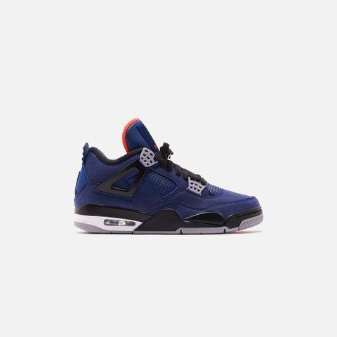 Nike Air Jordan 4 Retro Winter - Loyal Blue / Black / White / Habanero Red