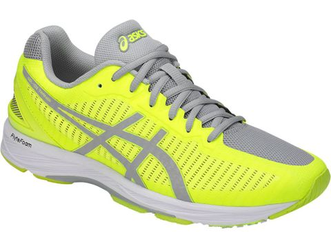 ef9833b79255 Asics Men s Gel-DS Trainer 23 - Safety Yellow Mid Grey White (