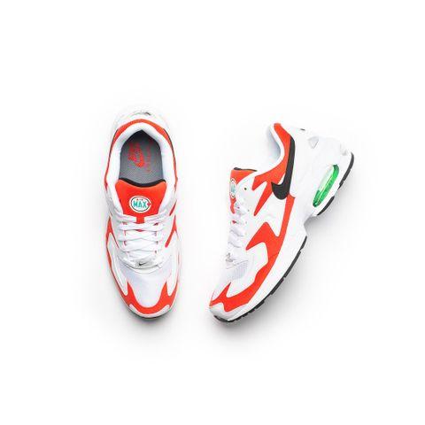Nike Air Max 2 Light (White/Black/Habanero Red) 5/23