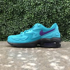 46ea8cc4ea6067 Nike Air Max 2 Light (Spirit Teal Court Purple-Black)
