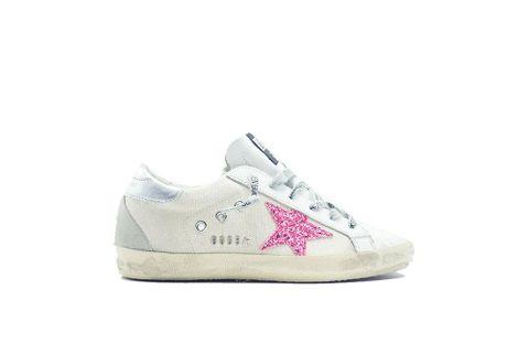 710b189a7cf9 Golden Goose Superstar Sneaker Natural Pink/Glitter Women G34WS590.O43
