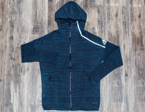 REIGNING CHAMP X ADIDAS FRENCH TERRY ZNE HOODIE WOMEN'S BLACK