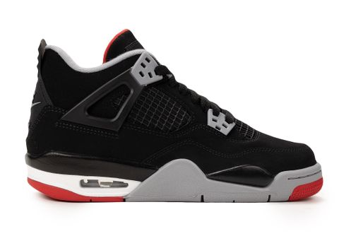 size 40 5ab10 0271b Air Jordan 4 Retro GS  Bred
