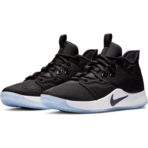 90cf3d70531d Courtside Sneakers · Nike PG 3  Black White