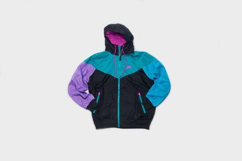 dfca80552ef2 Nike - Sportswear Windrunner Windbreaker (Black Violet-Blue Lagoon)