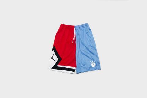b0a39f4d5cb687 Jordan - College Nba Shorts (Gym Red  Black  White  University Blue