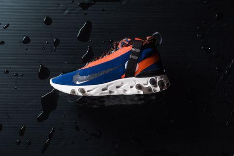Nike React Runner Mid WR ISPA - Blue Void/Black/Team Orange
