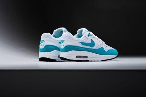 wholesale dealer bad15 3036a WMNS Nike Air Max 1 - White Light Blue Fury