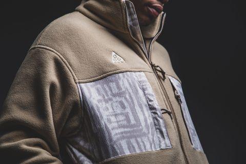708b9bf2c Nike x ACG Fleece Jacket - Parachute Beige / Summit White