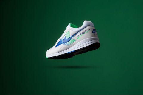 152bed7723c Sneaker Politics · Nike Air Skylon II - White Hyper Royal Green Strike