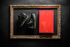 newest collection ceb9f fd2fb Nike Zoom LeBron III QS - Black Metallic Gold