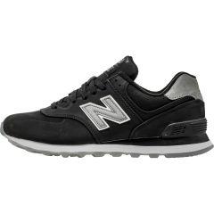 NEW BALANCE 574 MEN\u0027S - BLACK/GREY/WHITE