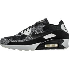 wholesale dealer 0d5cf a5a1e NIKE AIR MAX 90 ULTRA 2.0 FLYKNIT MENS LIFESTYLE SHOE - BLACKWHITE