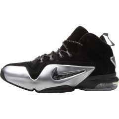 super popular 91f8c acc5d Nike Zoom Penny VI Premium - Black Metallic Silver