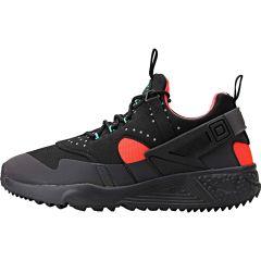 buy online 92f54 1378e Nike Air Huarache Utility Premium - Black Bright Crimson