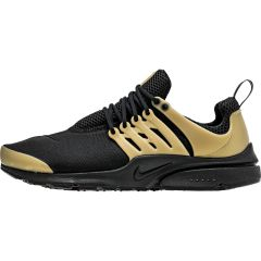aab5d09f5b54 NIKE AIR PRESTO ESSENTIAL MEN S - BLACK METALLIC GOLD WHITE