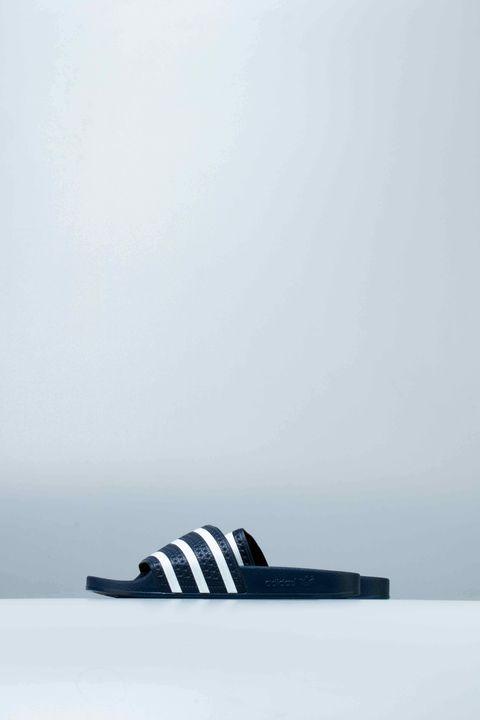 a2d50a315011 Adidas Adilette Slides (Mens) - Adi Blue