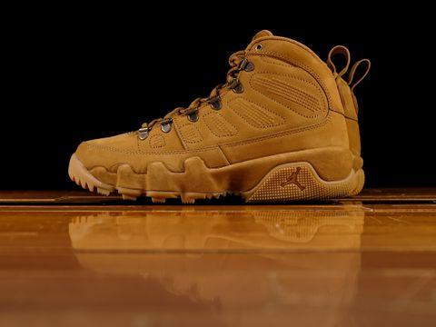 2e72a5fa01a Men's Air Jordan 9 Retro Boot 'Wheat' ...
