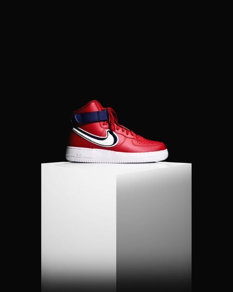 premium selection 16825 a354f Nike Air Force 1 High 07 LV8  Chenille Swoosh  (806403-603)