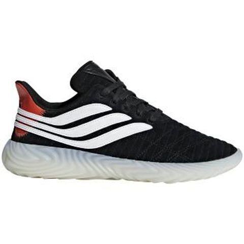 597552e4f2ac5 Adidas Sobakov Black White Orange