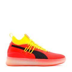 f03c5171711d Social Status. Puma Basketball Clyde Court Red Blast Yellow Men 191715-02