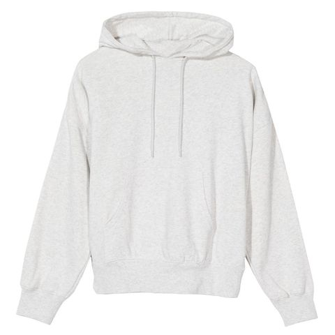 2bcb43434a4a09 Stussy Women Violet French Terry Hoodie Ash Heather 218070-ASHH