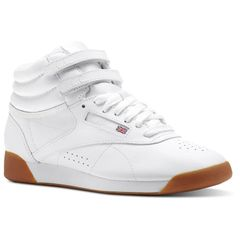 9c4871cfaf25d WOMEN S REEBOK CLASSICS FREESTYLE HI - White   Gum