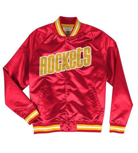13925a38aa9 Houston Rockets Lightweight Satin Jacket (Red)