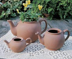 Medium English Teapot Planter