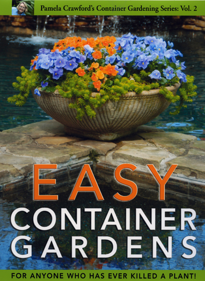 """Easy Container Gardens"" Book by Pamela Crawford"