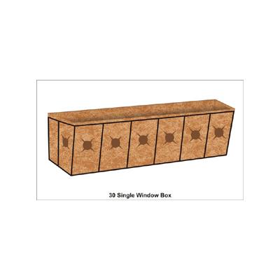 30 Inch Window Box Planter Liner Set Window Box Planters
