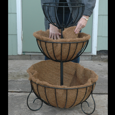 Flat Liner Set for 3 Tiered Cascade Planter (KC23)