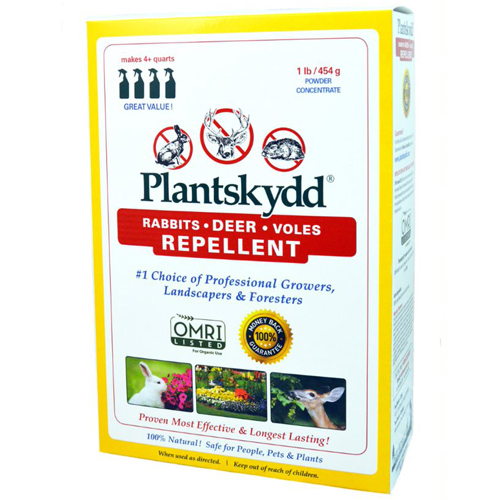 1 Lb. Soluble Powder Spray Concentrate Plantskydd Small Critter & Deer/Elk Repellent