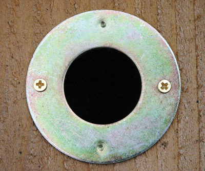 1 1/4 Inch Hole Protector For Wooden Birdhouses