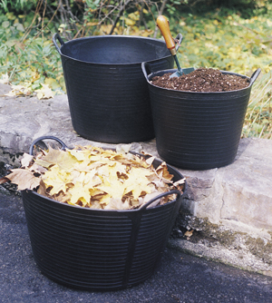 Original Black Trug Tubs