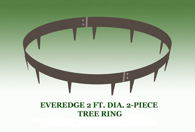 EverEdge Metal Tree Rings