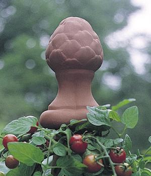 Terracotta Artichoke Finial