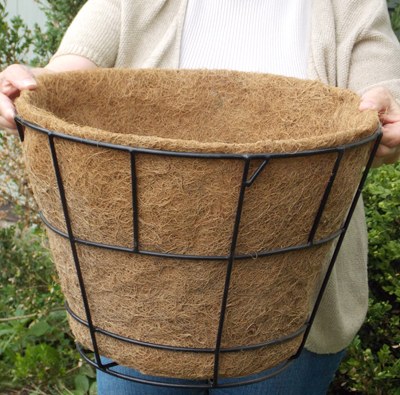 "16"" Double Tier Basic Basket Liner With No Holes (for ZGBD16)"