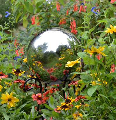"10"" Stainless Steel Gazing Globe"