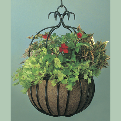 "18"" Imperial Hanging Planter & Coco Liner Set"
