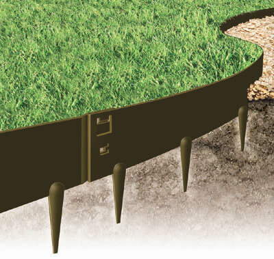 heavy duty lawn edging