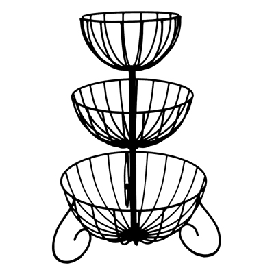 Three Tiered Cascade Planter (Basket Only/No Liner)