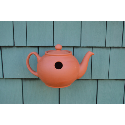 Teapot Wall Bird Nester