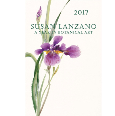 2017 Botanical Flower Wall Calendar By Susan Lanzano