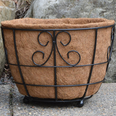 Coco Fiber Liner for 17 Inch Designer Patio Planter