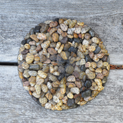 River Pebbles-Earthtone Browns